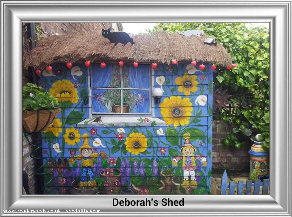 There's no shed like home.............x