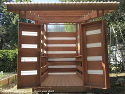 Solar Shed - Jeremy - Garden