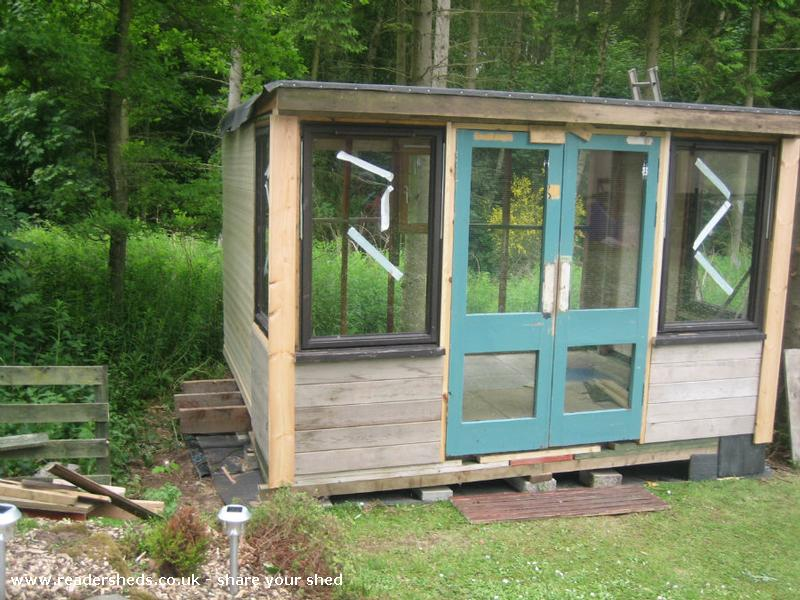 Garden room cabin summerhouse from middle of nowhere for Garden rooms finance