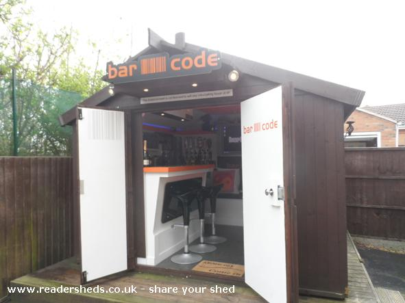 Photo of BARCODE, entry to Shed of the year