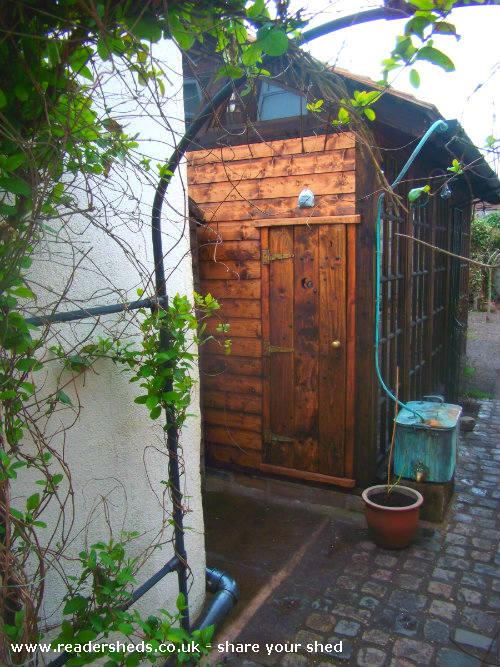 Gizmo Workshop Studio From Garden Formby Owned By Neil