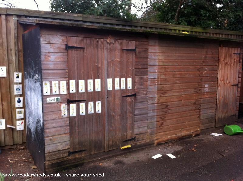 Coombe Hill Infants shed gallery