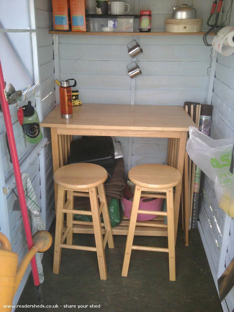 Jen's Allotment shed
