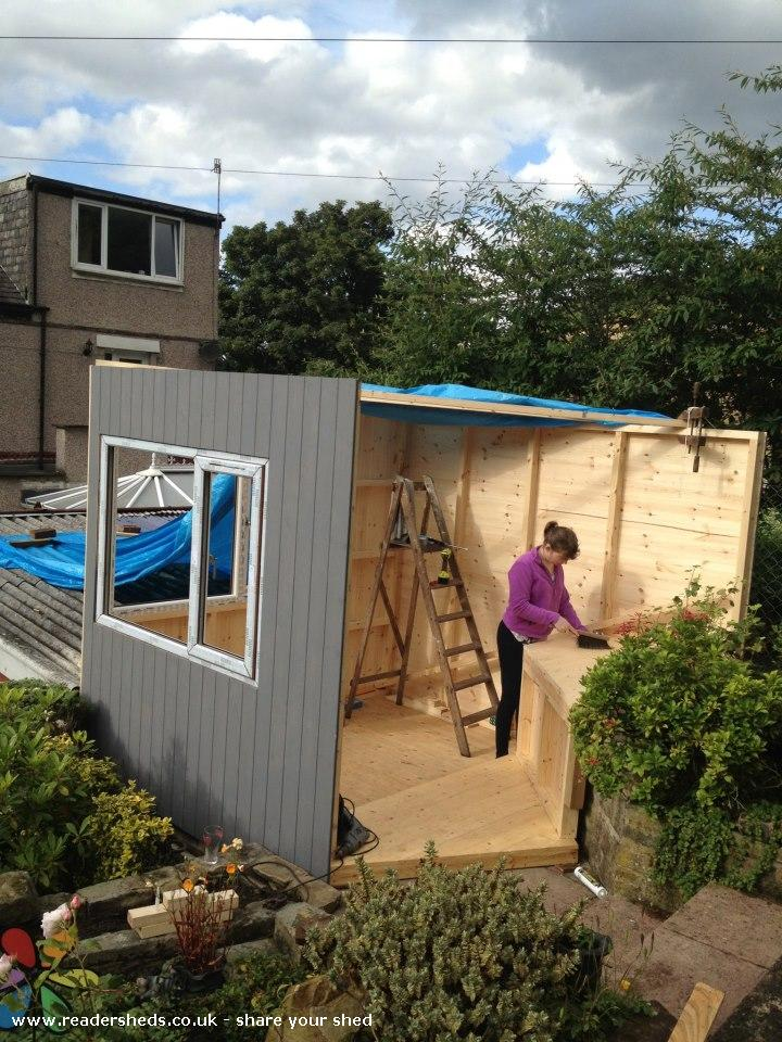 Photo of Denison Garden Studio, entry to Shed of the year-3 sides