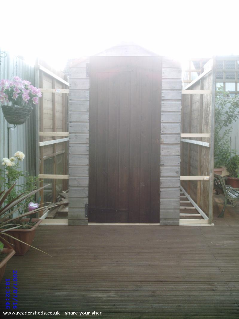 Photo of The Cock Inn, entry to Shed of the year