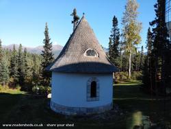Munchkin House - Toly Zyatitsky - Backyard