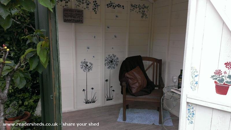 The Shedouir Workshop Studio From Garden Owned By