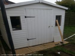 Guinea Pig shed  - Jme - Garden