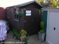 Maddiemoodesign centre - Angela Pal - Bottom of the garden