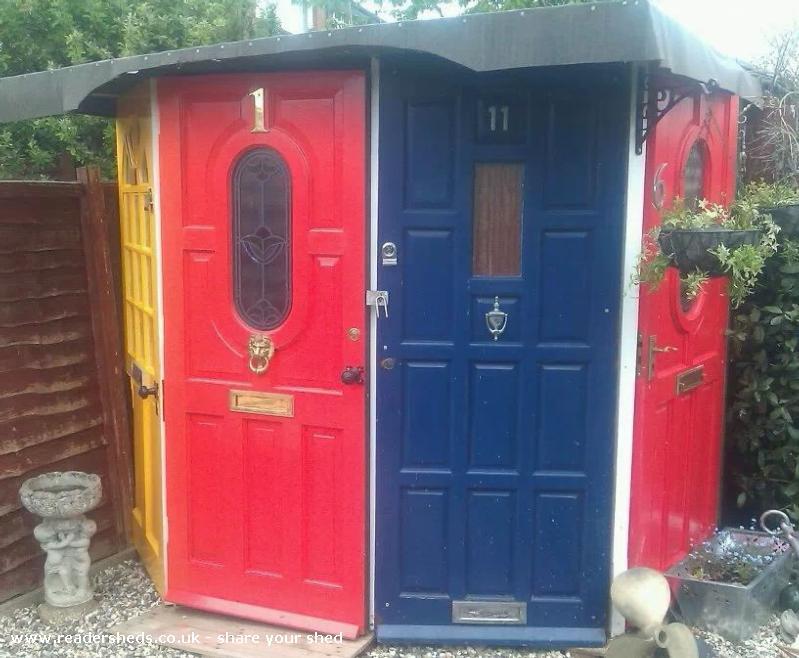 the doors - alison wilcox - garden