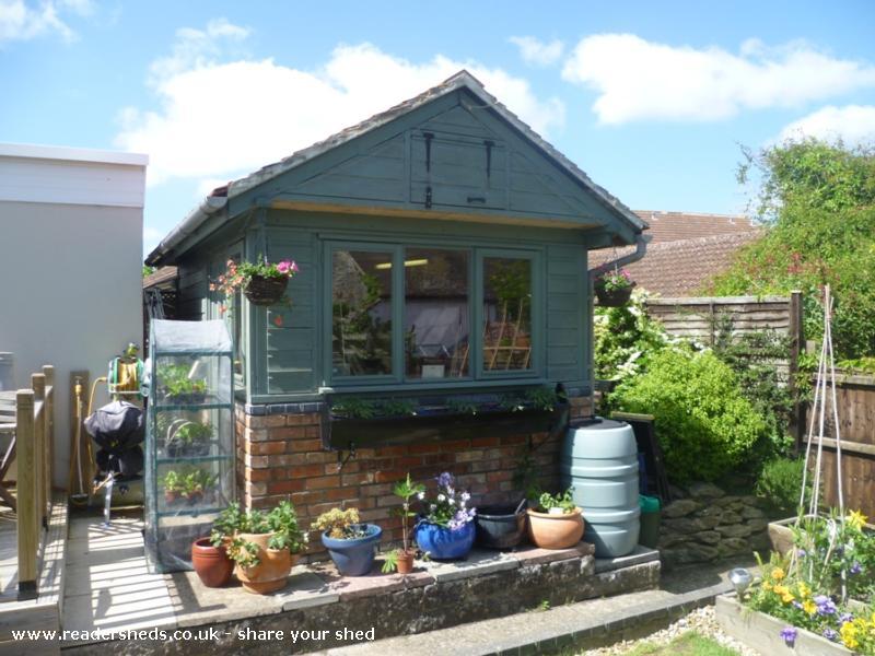 Posh shed - Ian - Back Garden