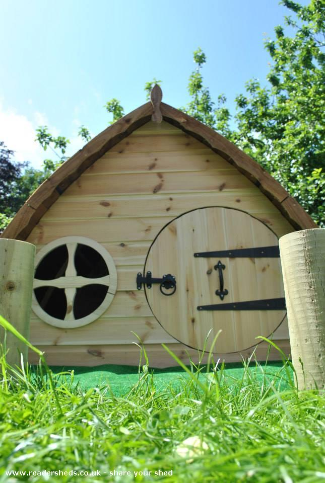my hobbit house, unique from garden ownedjake jones #shedoftheyear