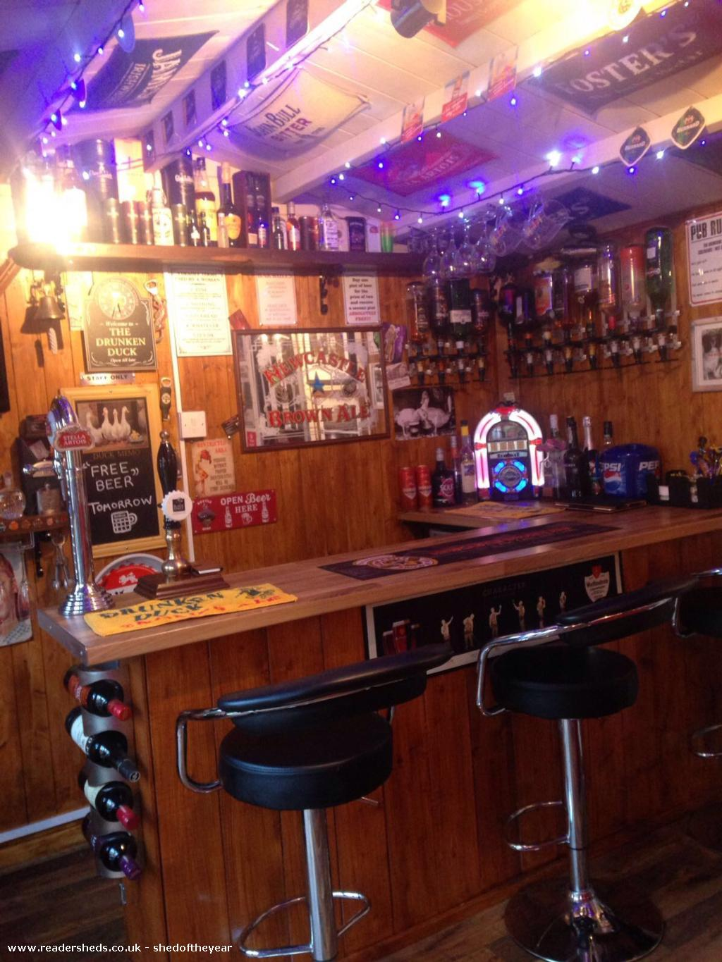 Photo of THE DRUNKEN DUCK, entry to Shed of the year-Newly Refurbished 2018