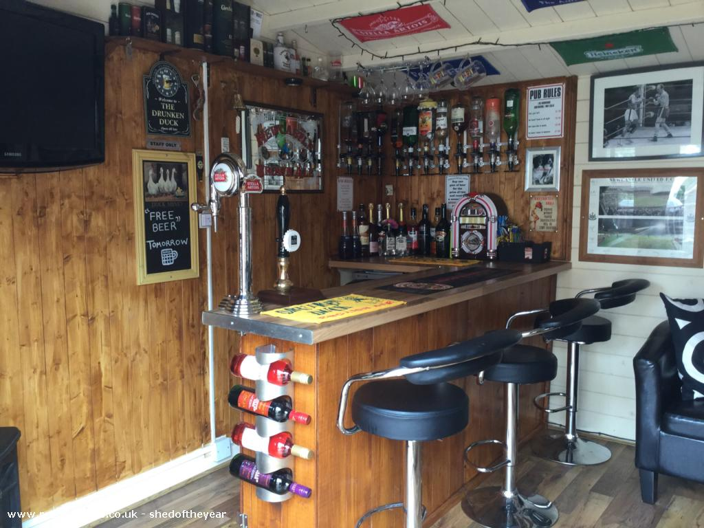 The Drunken Duck Cabin Summerhouse From Garden Owned By