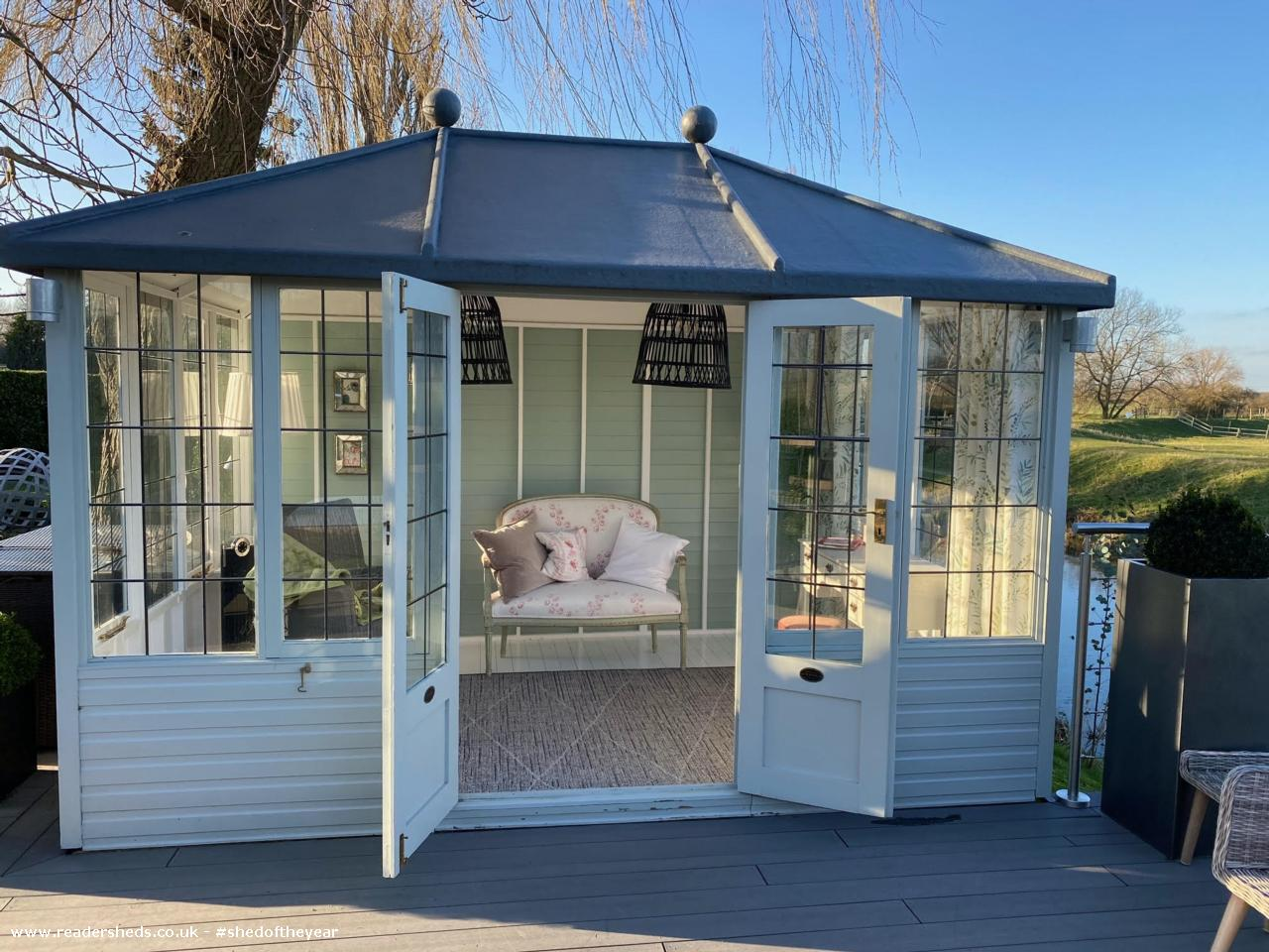 Photo of Riverside Summer House, entry to Shed of the year