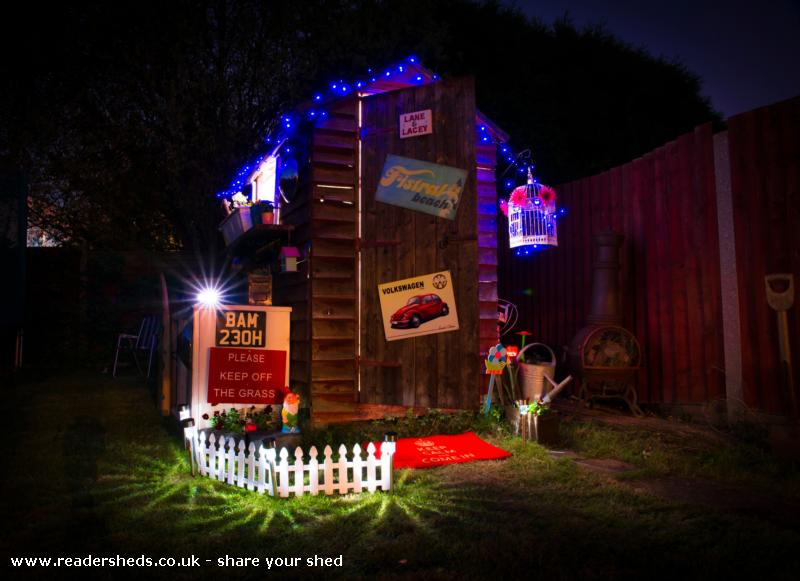 Photo of The Essex Retreat , entry to Shed of the year-night front view