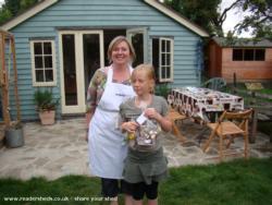 The Melting Pot - Dawn Fry - Bottom of garden