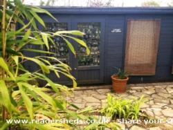 Camp No Nagg - Tom McGuinness - Bottom of garden