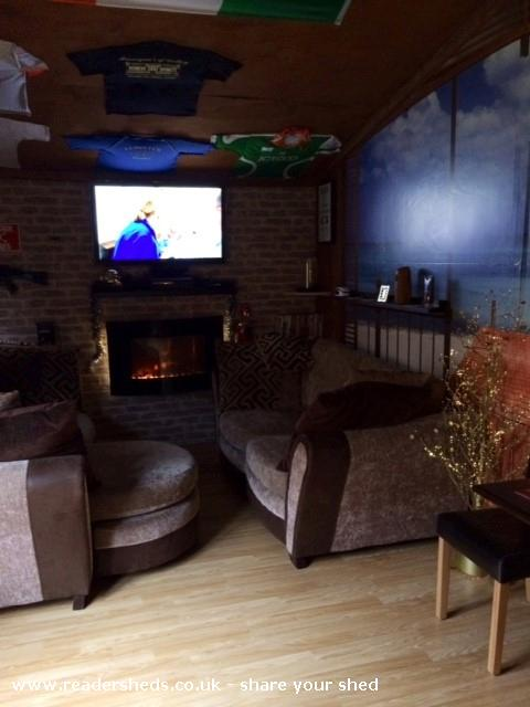 Photo of Mancave, entry to Shed of the year