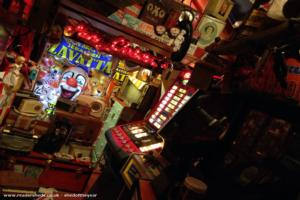 Fairground Arcade /retro museum - Paul Ruddiforth - bottom of garden