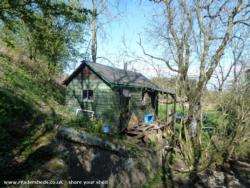recycled shed-home - Miki - by the river