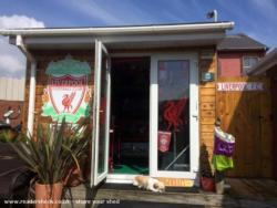 The Shankly Shed - George coleman - Back garden