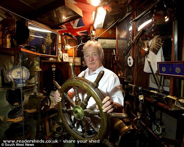 Rob's mini maritime museum