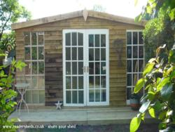 Sally's Shed - Sally Atkins - bottom of the garden
