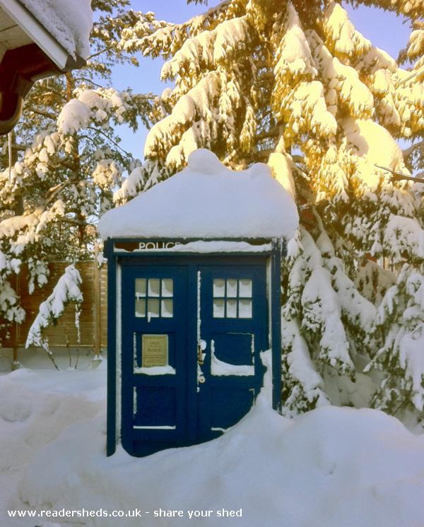 Delicieux Swedish Tardis, Unique From Garden Owned By Carl De Boulloche #shedoftheyear