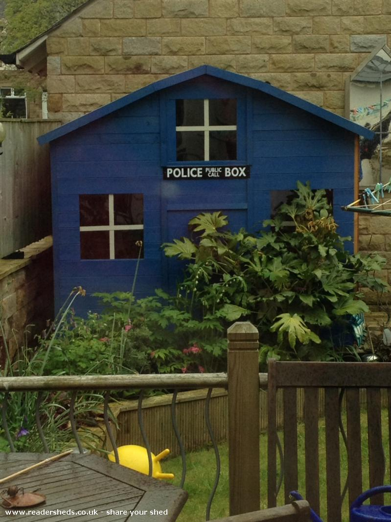 Thomas's tardis  - Helen Waddington  - Garden
