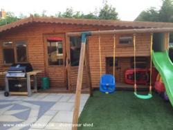 Bobs lodge - Aston dibden - Garden