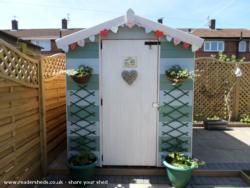 Beach Hut Shed - Dawn - Garden