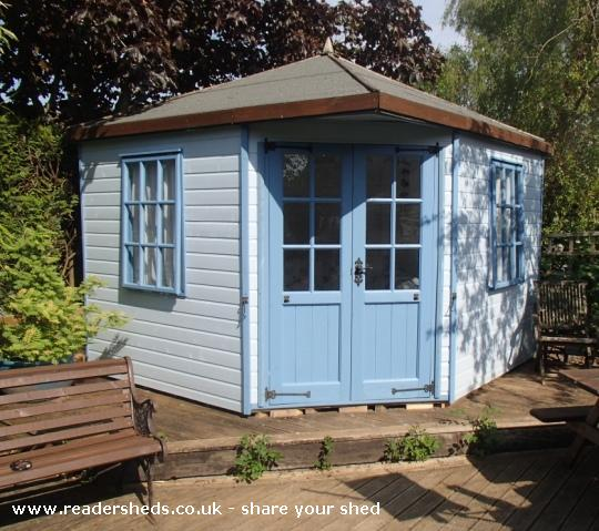 shabby chic garden shed shabby shed Quotes