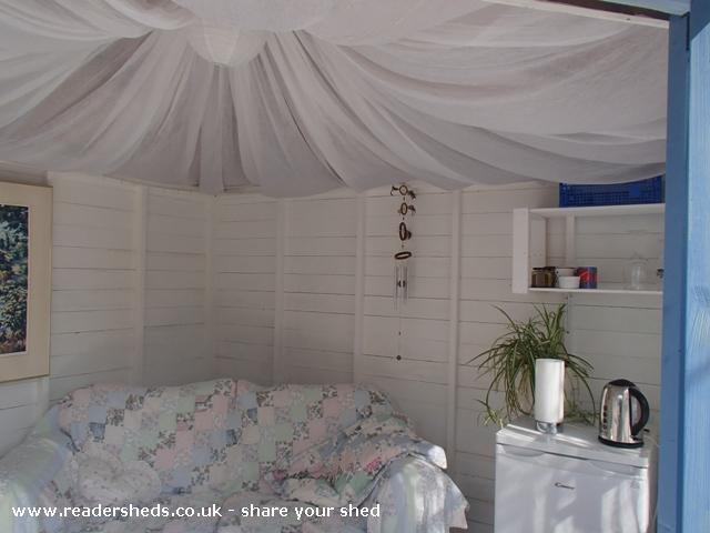 Shabby Chic Shack Cabin Summerhouse From Garden Owned By