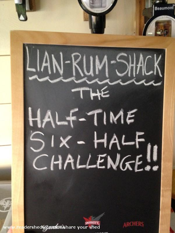 The Llan-Rum-Shack