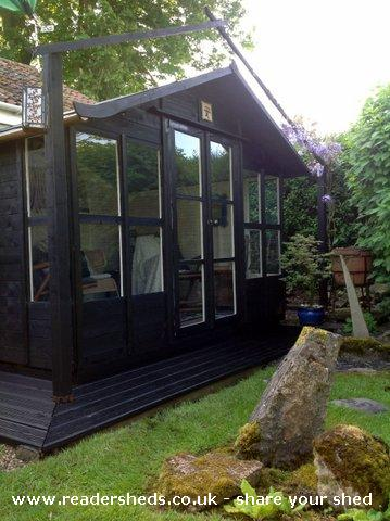 Zenshed Cabin Summerhouse From Garden Owned By Brigid