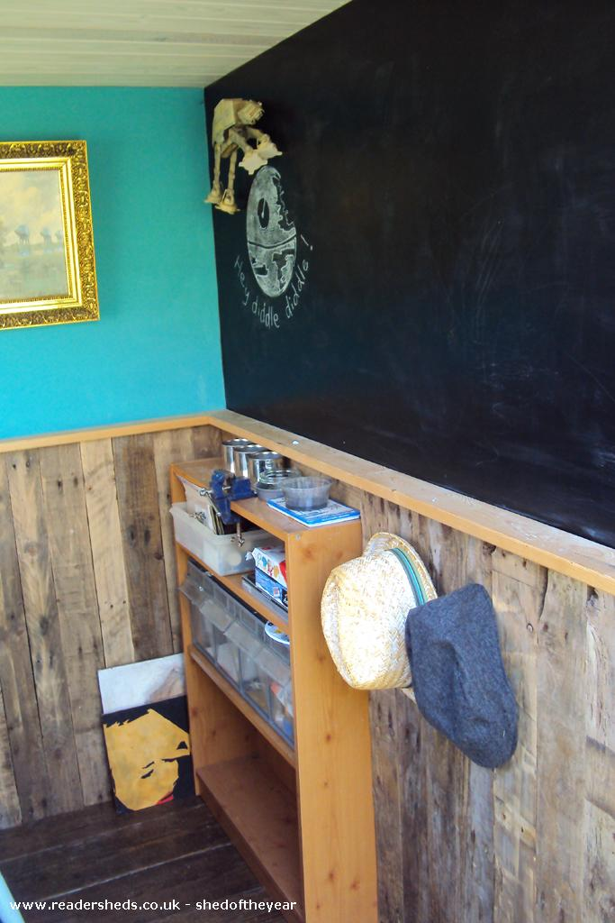 The Poki Workshop Studio From Garden Owned By Huw