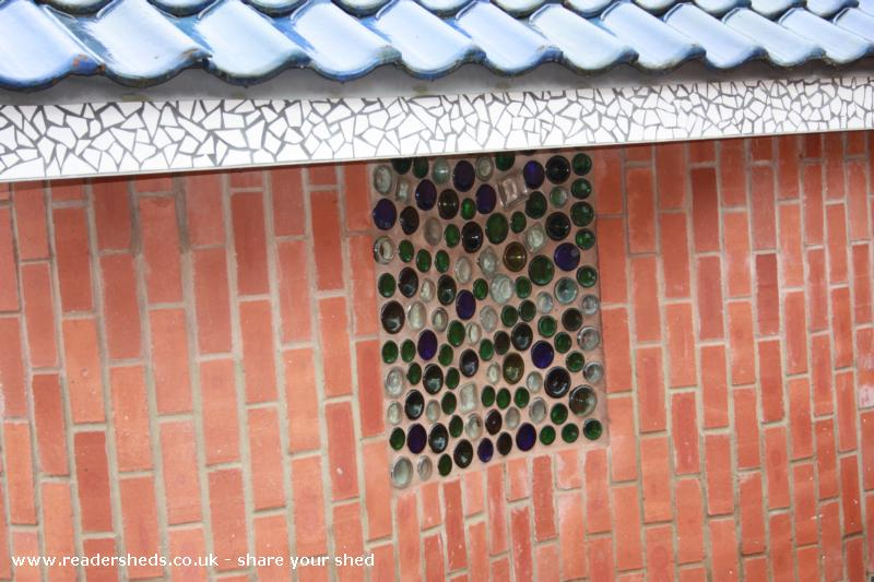 the Gaudi school shed
