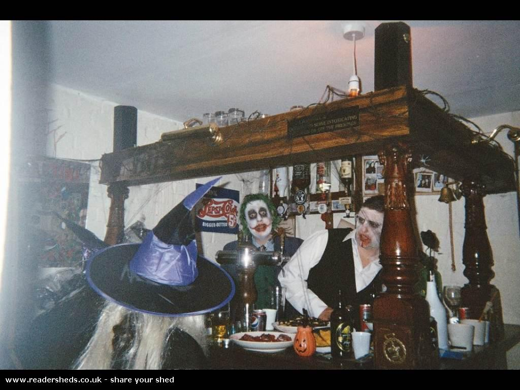 Randy's Bar - Sarah Randall - Outside back door