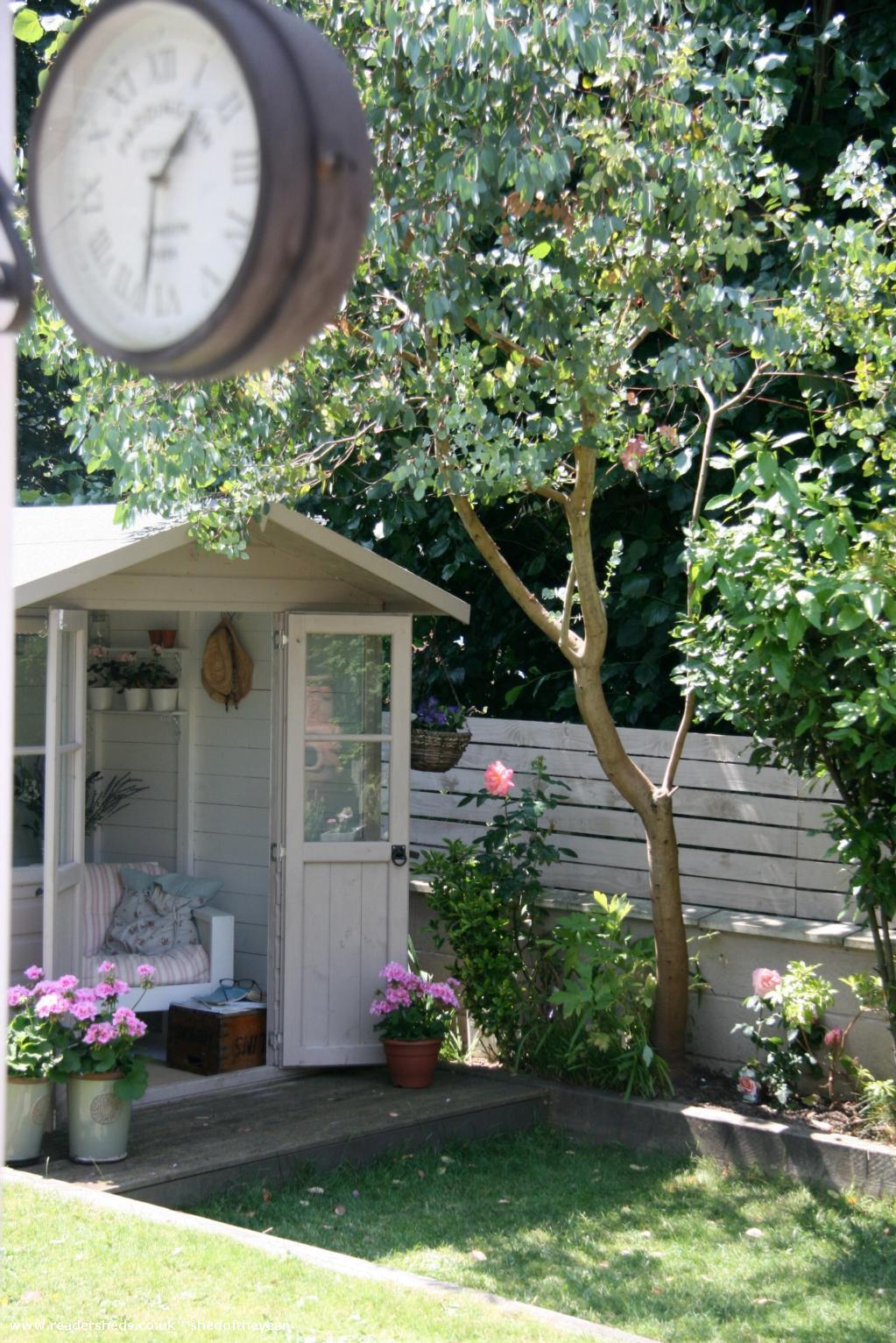 English Country Garden Cabin Summerhouse From Garden