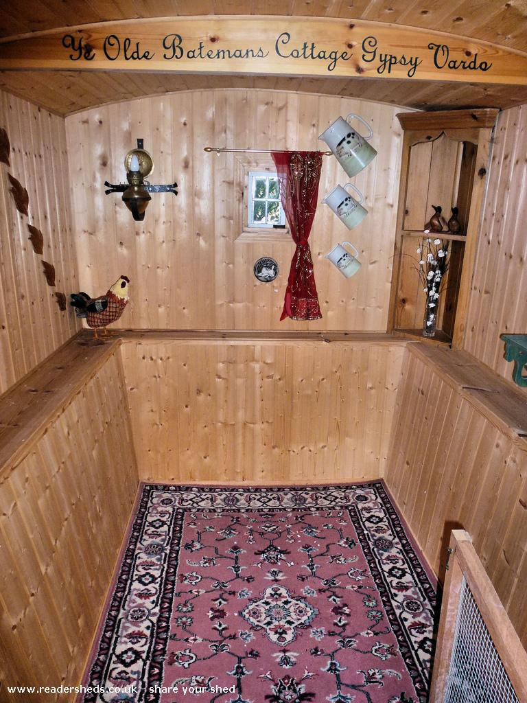 Photo of Gypsy Shed, entry to Shed of the year-Inside
