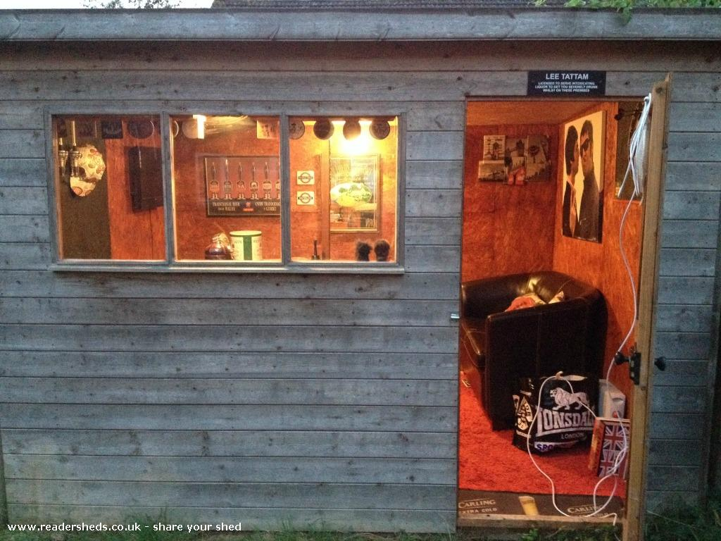 Pub Sheds Are The Latest Backyard Trend Portland Of Garden Shed Pub ...