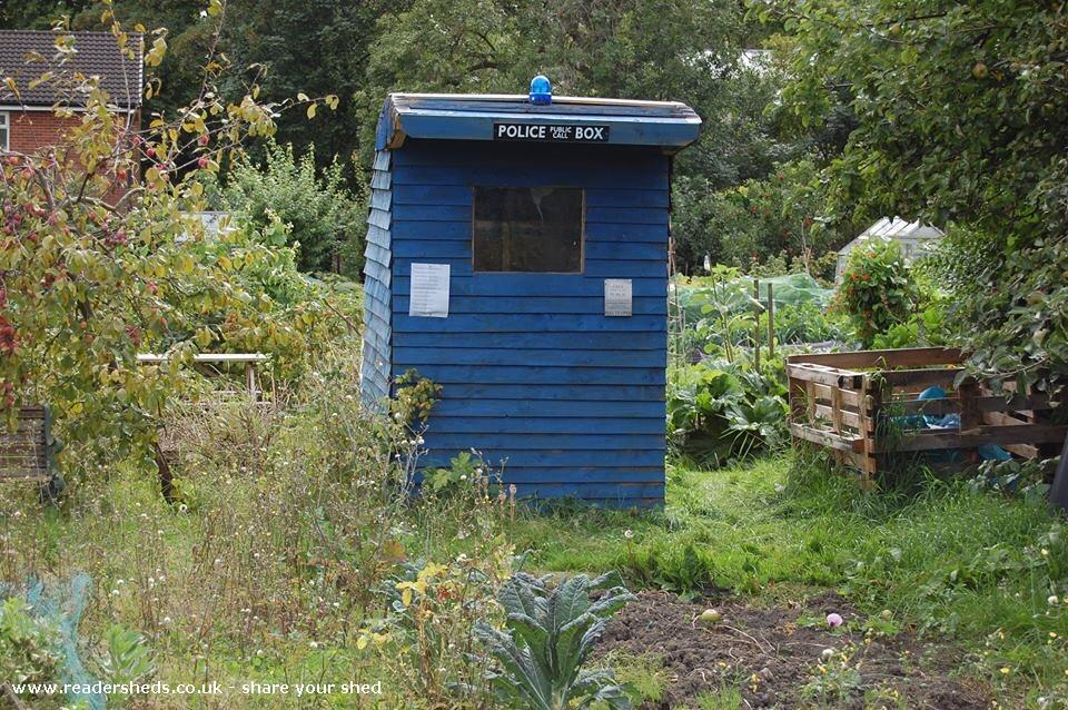 Starbeck Tardis - Dave Prince - Starbeck