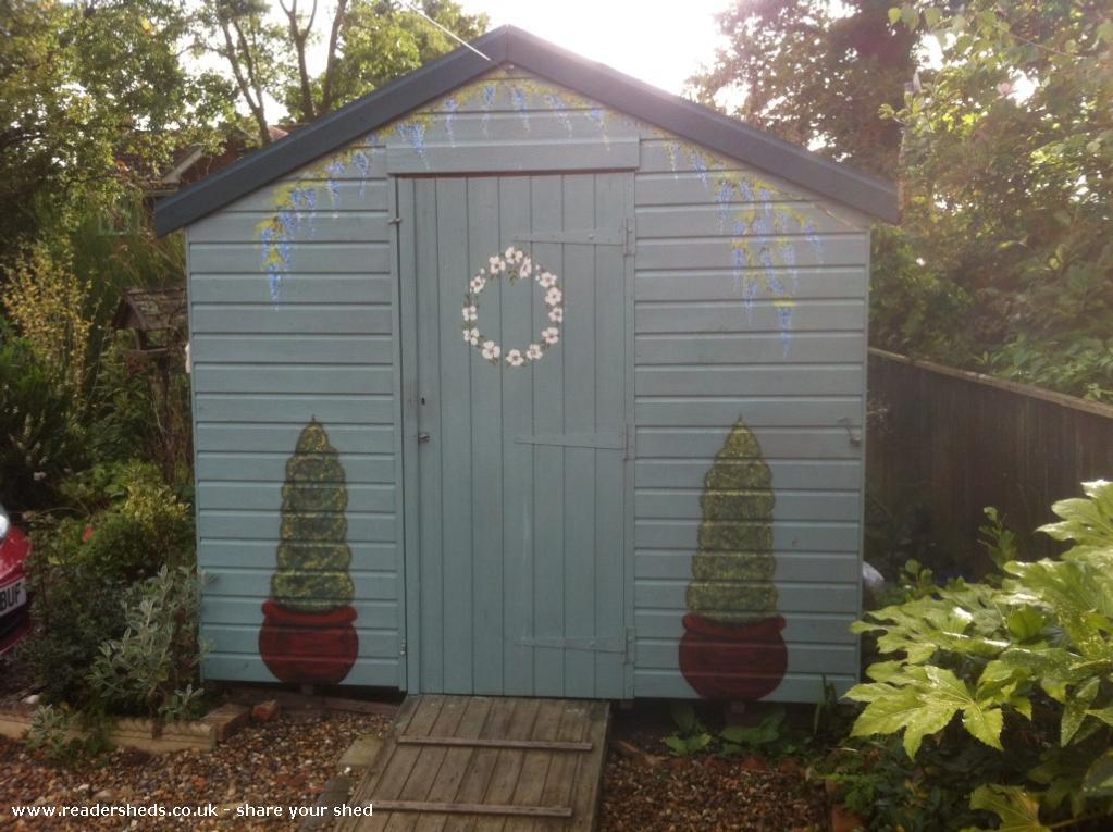 Summer Garden - David Wright Larch Cottage Florist - Front Garden