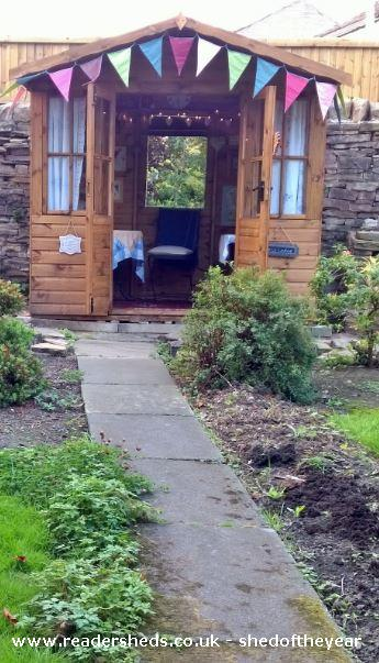 Purry Lodge Cabin Summerhouse From My Garden Owned By