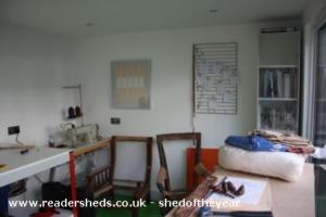 Sophie's lady shed and Ben's man cave - Sophie cronin - Garden
