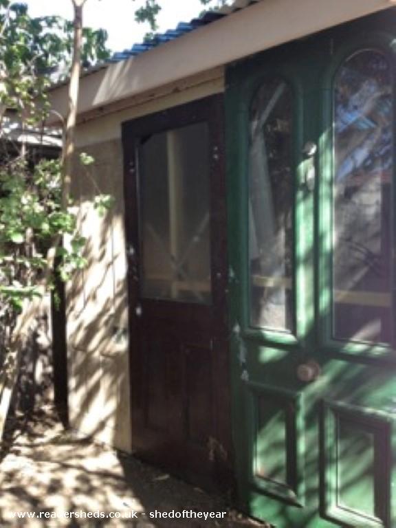 Which Door ? - Jean McGregor - Back yard