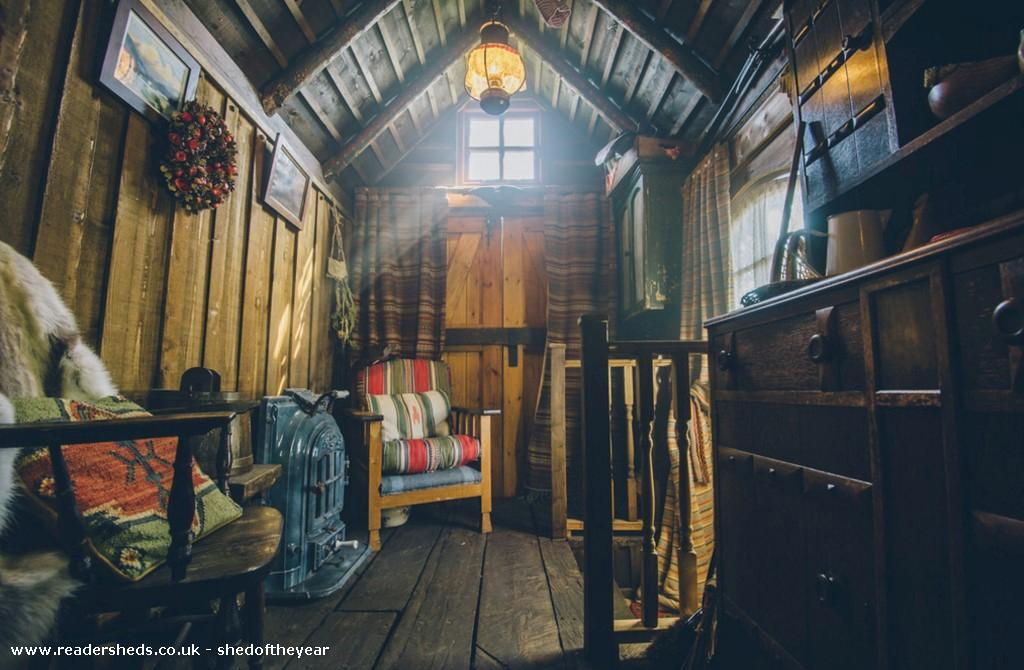 Photo of The Talliston Cabin, entry to Shed of the year