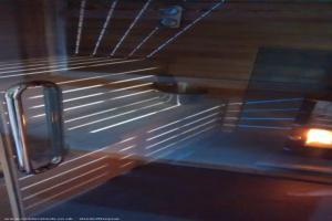 sauna house - Nick - rear garden