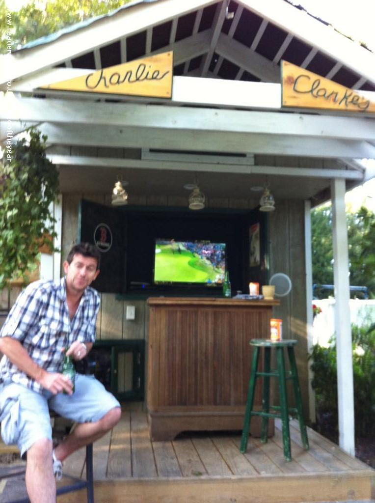 Charlie Ckarkes - Greg  - back yard